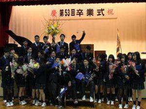 第53回京都国際高等学校 卒業式