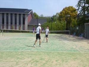 中学テニス春季大会