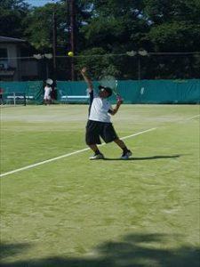 中学テニス夏季総体