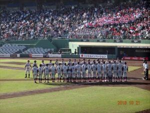 10月21日高校野球秋季近畿大会報告