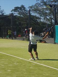 中学テニス 秋季総体