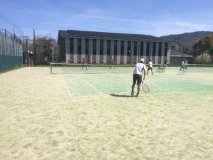 春季総合体育大会テニスの部