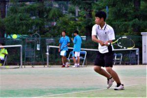 《硬式テニス部》京都市中学校総合体育大会ベスト8