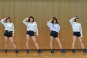 《ダンス部・舞踊部》陶化地区まちづくりフェスタに参加しました