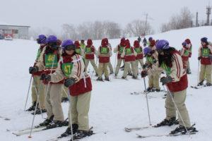 《高校1年生》スキー合宿を実施しました