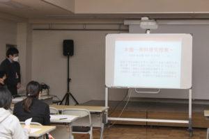 《韓国語科》研究授業を実施しました