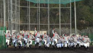 《硬式野球部》第93回選抜高校野球大会出場決定の様子