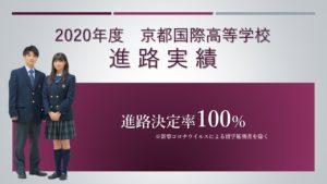 《進路指導》2020年度 京都国際高等学校 進路実績