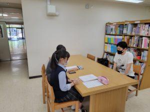 《総合コース》1年2組 総合学習の取り組み