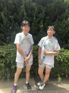 《テニス部》京都市中学校夏季総合体育大会テニスの部 結果