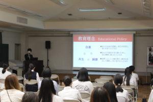 【入試広報】10/02 オープンスクールを開催しました