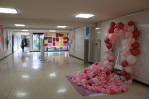 《全校生》学園祭(体育祭・文化祭)の準備が行われました