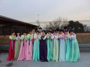 하나조노(花園)고등학교 학생들과의 교류회