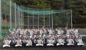 「경식 야구부」제 93 회 선발 고등학교 야구 대회 출전 결정의 모습